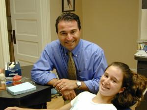 Dr Cohen and patient